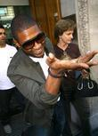 Usher and Jo Whiley