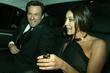 Christian Slater and Tamara Mellon