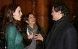 Saffron Burrows, Colin Firth and his wife Livia...