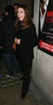 Helen Baxendale Arriving At The Vaudeville Theatre