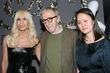 Donatella Versace, Versace and Woody Allen