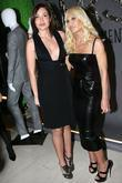 Fabiola Beracasa and Donatella Versace