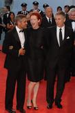 George Clooney and Tilda Swinton