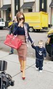 Victoria Beckham and Son Cruz David Beckham
