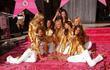 Heidi Klum, Alessandra Ambrosio, Izabel Goulart, Adriana Lima, Victorias Secret, Star On The Hollywood Walk Of Fame