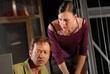 James Flynn and Samantha Wright
