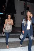 Kim Kardashian and Brittny Gastineau