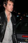 Lukas Haas arriving at Villa Lounge