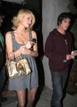 Paris Hilton and Brandon Davis Leaving Villa Lounge Nightclub