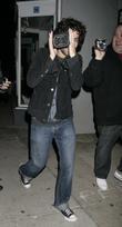 Adrian Grenier leaving Villa Lounge West Hollywood, California