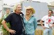 Sir Richard Branson, Darryl Hannah, Virgin Mobile Festival