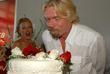 Coco Papdogonas and Richard Branson