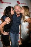 Audrina Patridgend, Las Vegas and Richard Branson