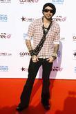 AJ McLean Viva Comet Awards 2008, held at...