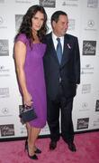 Brooke Shields and Steve Sadove