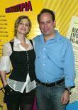 Kyra Sedgwick and Andrew Polk