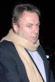 Christopher Hitchens Arriving For Dinner At The Waverly Inn