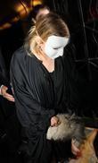 Ashley Olsen leaving a wedding held at the...