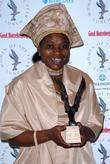 Rose Molokoane winner of Outstanding Achievement Award.