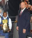 Floyd Mayweather Jr. and Big Show aka Paul Wight