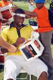 Dwyane Wade Aka Flash Signs A Basketball
