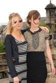 Sienna Miller, Keira Knightley and The Edge