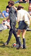 Alex Turner and Alexa Chung Carling Festival Leeds...