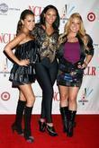 Adrienne Bailon, Kiely Williams and Sabrina Bryan Cheetah...