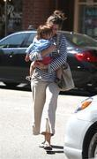 Amanda Peet and Her Daughter Frances Pen Benioff
