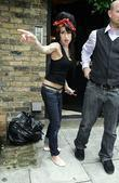 Amy Winehouse opens her door wearing a Jewish...