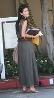 Angie Harmon on her way to a business...