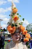A Lady During Ladies Day At Royal Ascot Racecourse At Royal Ascot