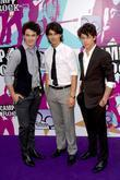 Kevin Jonas, Joe Jonas and Nick Jonas from The Jonas Brothers