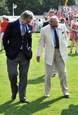 Prince Charles treading the divots with Cartier CEO...
