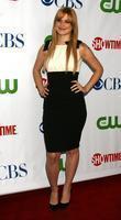 Alexandra Breckinridge  arriving at the CBS TCA...