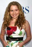 Allie Grant  arriving at the CBS TCA...