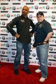 Montel Williams and Jason Alexander
