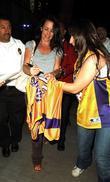 Kristen Davis and Staples Center