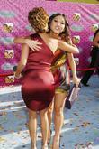 Adrienne Bailon and Brenda Song