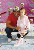 Cristian de la Fuente and daughter