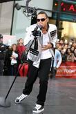 Chris Brown and Rockefeller Plaza