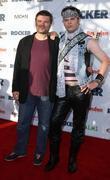 Peter Cattaneo and Rainn Wilson