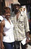 Ahmed Best and wife 'Star Wars: The Clone...