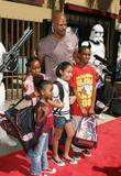 Keenan Ivory Wayans and family 'Star Wars: The...