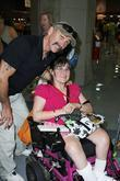 Aaron Tippin meeting and greeting fans at the...