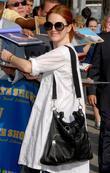 Julianne Moore, CBS, David Letterman