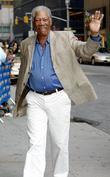Morgan Freeman, CBS, David Letterman
