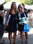 Fitness Guru Denise Austin Has Lunch With Daughter
