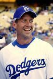 James Denton Dodgers 50th Hollywood Stars soft ball...