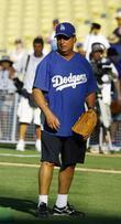 Jon Lovitz Dodgers 50th Hollywood Stars soft ball...
